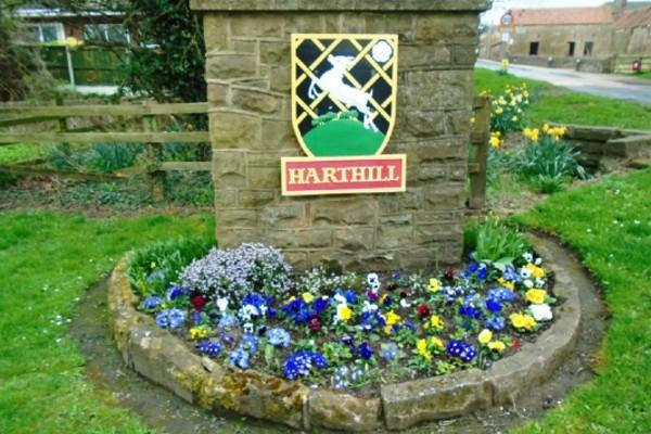Picture of Harthill sign