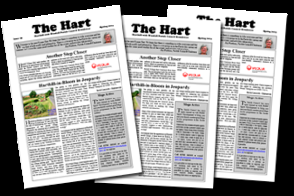 Picture of The Hart newsletter