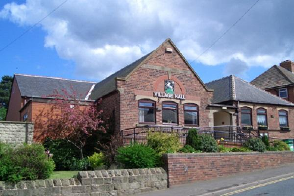 Picture of the front of the village hall